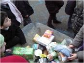 La collecte de la banque alimentaire