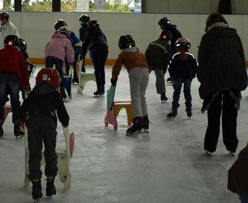 La patinoire en CE2B