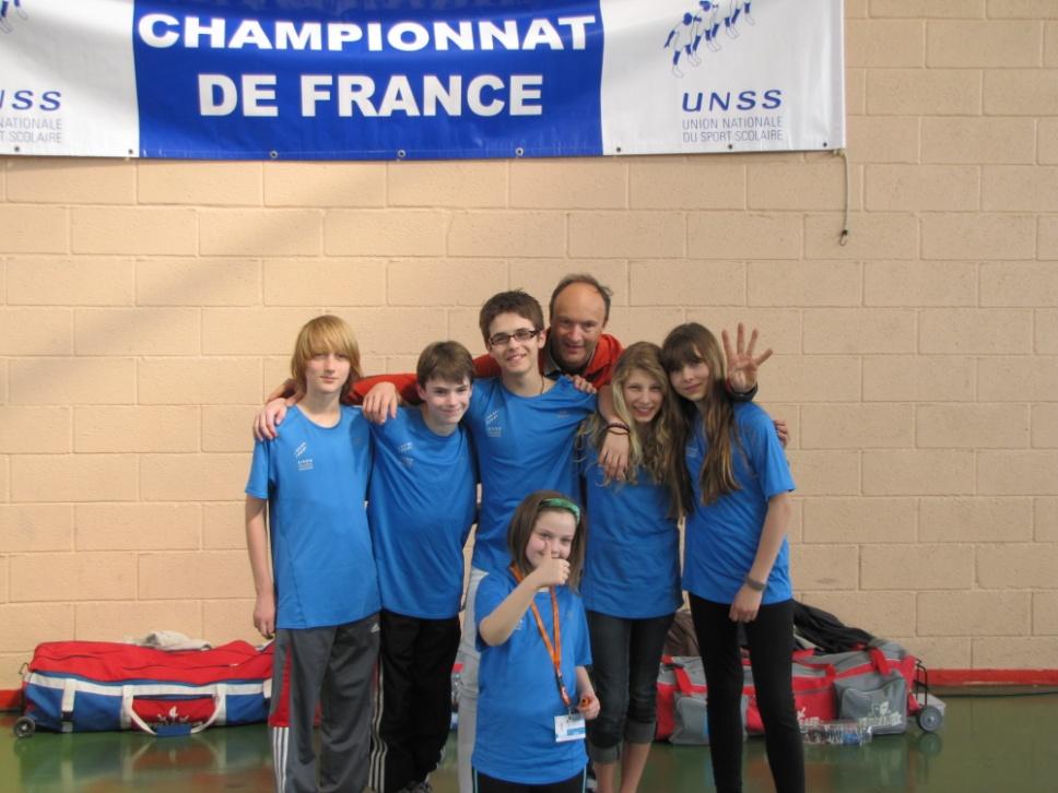 St-Do qualifié au championnat de France UNSS Escrime