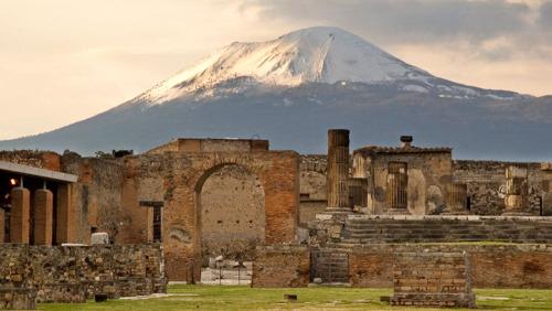 Pompei et Vesuve