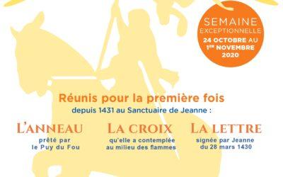 Grande mission autour de Jeanne d'Arc du 24 octobre au 1er novembre 2020