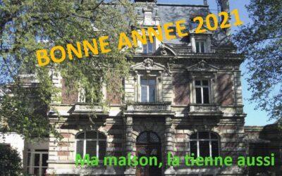 Belle année 2021 !!!